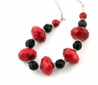 Red & Black Necklace